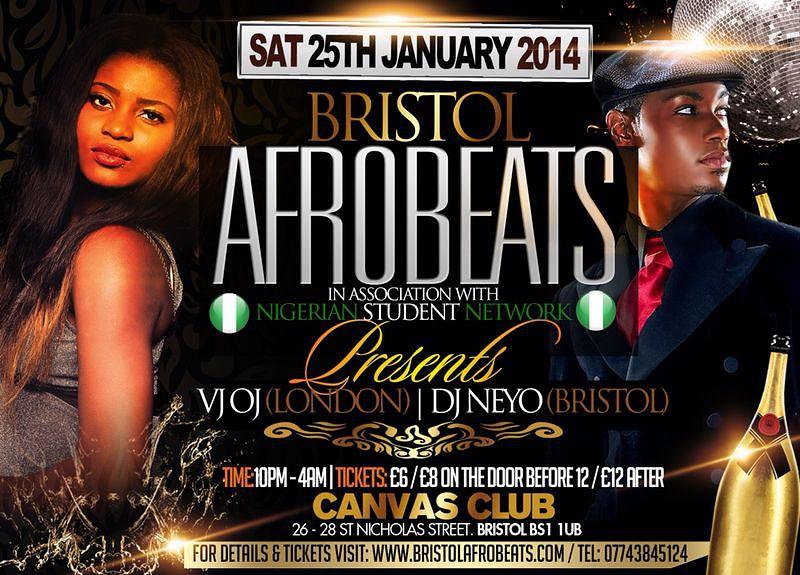 Bristol Afrobeats Canvas Club Headfirst Bristol