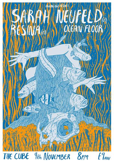 Sarah Neufeld (US) / Resina (PL) / Ocean Floor (UK tickets