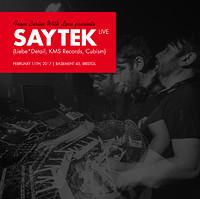 From Berlin with Love presents Saytek Live in Bristol