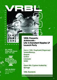 VRBL Presents Aristocrats LIKR LP Launch in Bristol