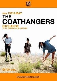 The Coathangers in Bristol