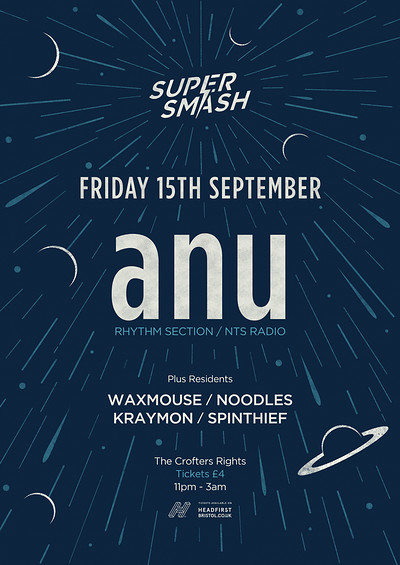 Supersmash w/ anu (Rhythm Section / NTS Radio) tickets