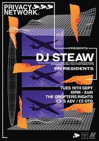 Privacy Network presents DJ Steaw in Bristol