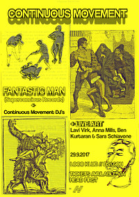Continuous Movement - Fantastic Man in Bristol