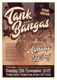 Tank and the Bangas in Bristol