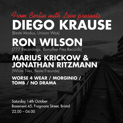 FBWL Presents: Diego Krause & Ron Wilson tickets