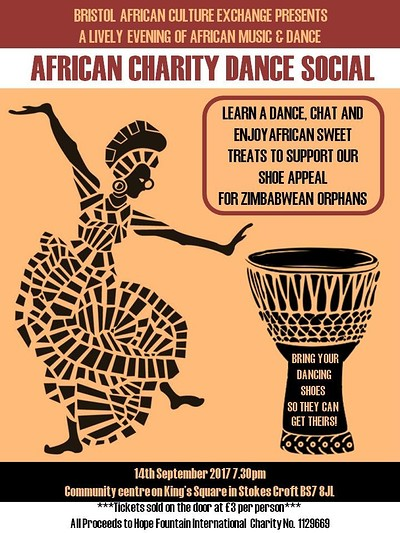 AFRICAN CHARITY DANCE SOCIAL tickets, Community Hall, 16 ...