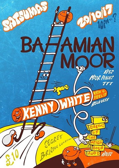 Satsumas w/Bahamian Moor tickets