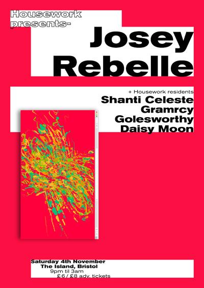Housework presents: Josey Rebelle tickets