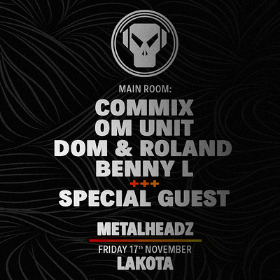 Metalheadz - Bristol - November 17th 2017 tickets