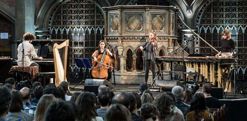 Spindle Ensemble at All Hallows Hall, Easton