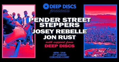 Deep Discs 1st Birthday at the Coroners Court tickets