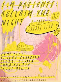 I:M Presents: Reclaim the Night. in Bristol
