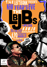 NYE with the LBJBs in Bristol