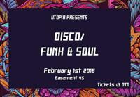 Utopia Presents: Disco // Funk & Soul in Bristol