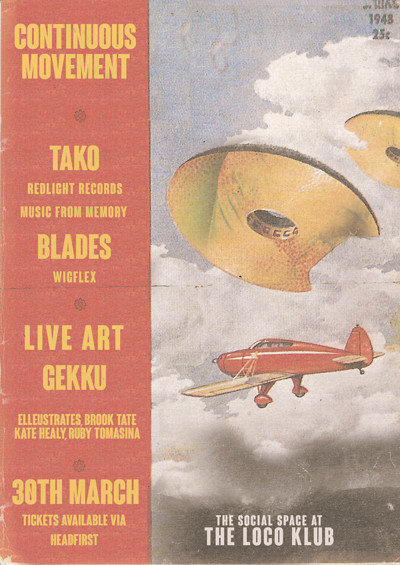 Continuous Movement - Tako (Music From Memory/RLR) tickets