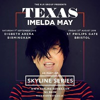 Texas and Imelda May (Skyline Series) in Bristol