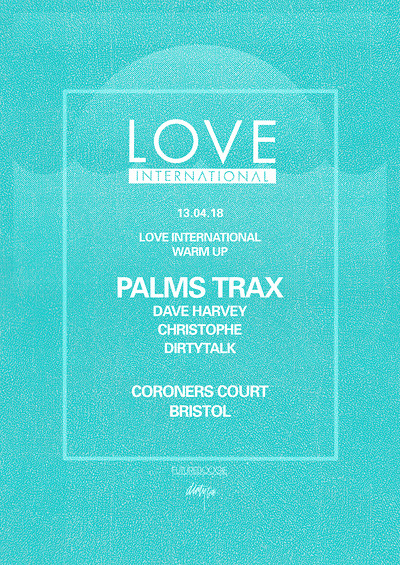 Love International presents: Palms Trax tickets