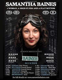 Chuckle Busters Comedy: Samantha Baines in Bristol