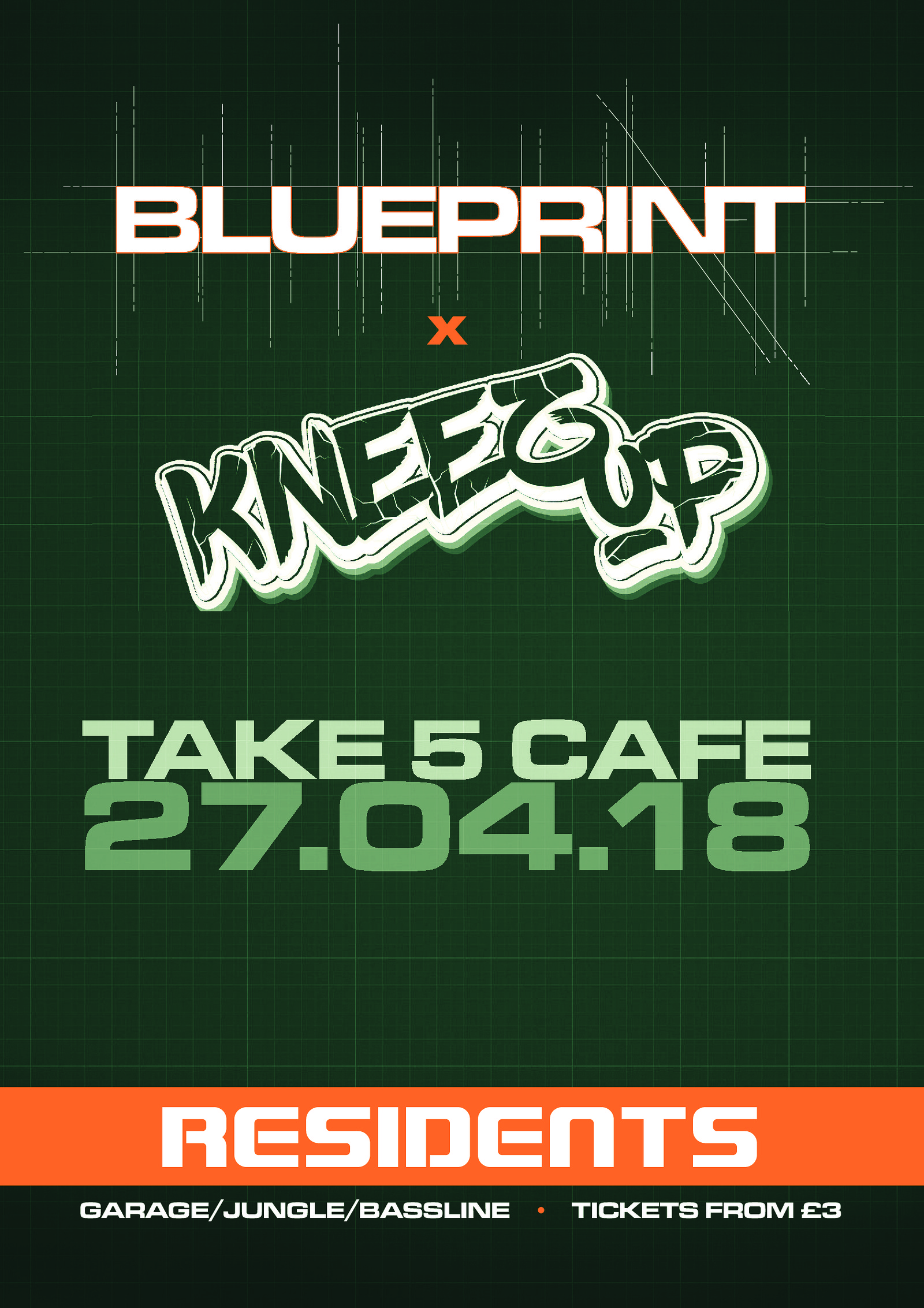 Blueprint x kneez up tickets take five cafe buy from headfirst blueprint x kneez up tickets take five cafe buy from headfirst bristol malvernweather