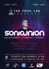 The Prog Lab Presents Sonic Union  in Bristol