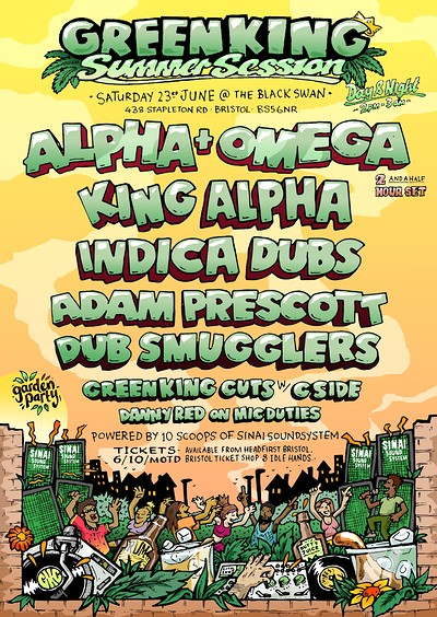 Green King Summer Garden Session / Day & Night  tickets