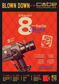 Straight 8 says 'Hello Bristol' in Bristol