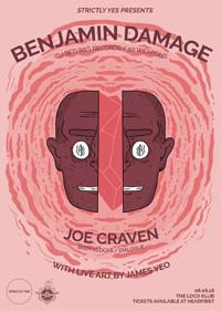 Strictly Yes Presents : Benjamin Damage (DJ Set) in Bristol