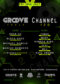Groove Tools // Channel 128 // Techno in Bristol