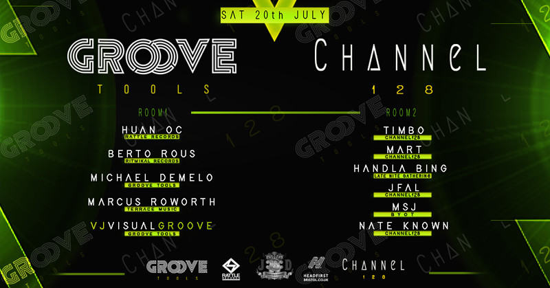 Groove Tools // Channel 128 // Techno at Jack of Diamonds