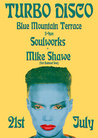 Turbo Disco Terrace Party - Blue Mountain in Bristol
