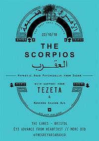 The Grey Area presents: The Scorpios & Tezeta in Bristol