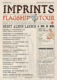 Imprints - FLAGSHIP TOUR FINALE in Bristol