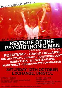 Fishlock Promo DIY Punk All Dayer in Bristol