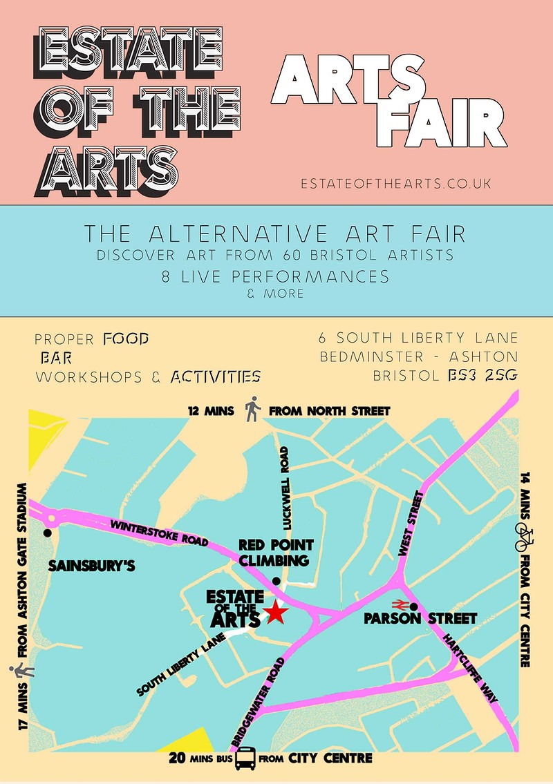 Estate of the Arts Fair in Bristol 2018