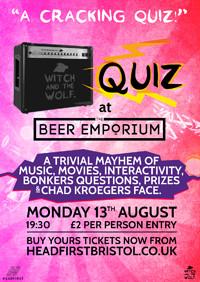 QUIZ at The Beer Emporium in Bristol