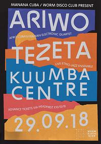 WDC + Manana Cuba present: Ariwo and Tezeta LIVE in Bristol