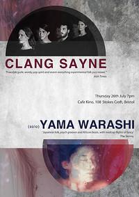 Clang Sayne & Yama Warashi (Duo) in Bristol