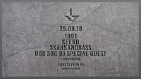1991, Keeno, Skankandbass, Special Guest TBA // Fr in Bristol