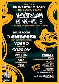 Hoodlum Hi-Fi  w/ CULPRATE, VORSO, SORROW, VELLUM in Bristol