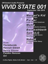 Off-Switch Audio Presents: Vivid State 001 in Bristol