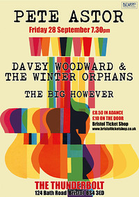 PETE ASTOR/DAVEY WOODWARD & THE WINTER ORPHANS in Bristol