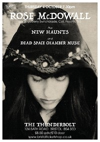 Rose McDowall & Band/New Haunts/Dead Space Chamber in Bristol