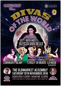 Category is...Divas of the World in Bristol