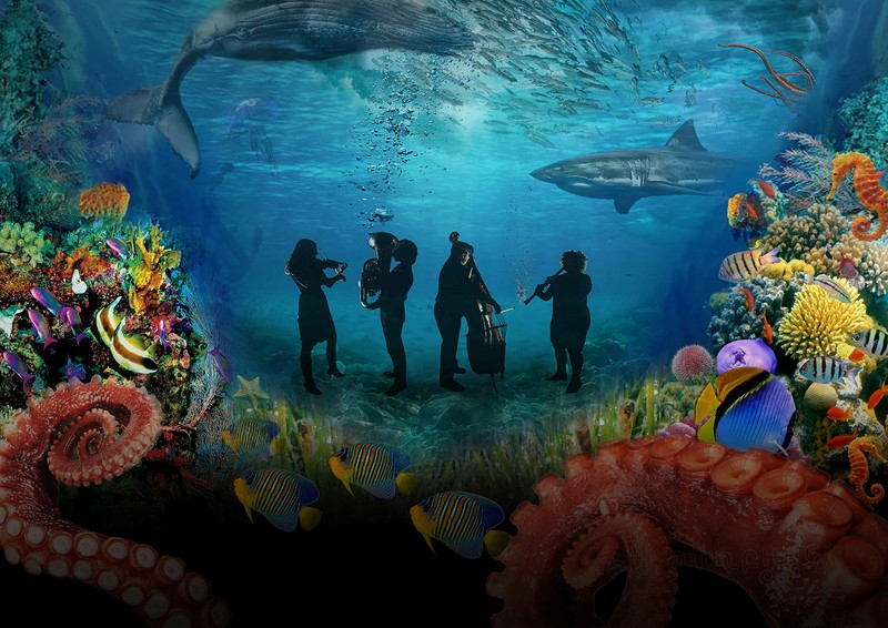 Insight Ensemble goes Under the Sea! at The Loco Klub