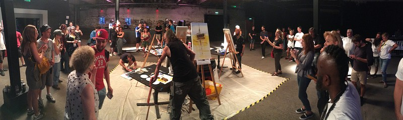Art Battle Bristol at The Marble Factory
