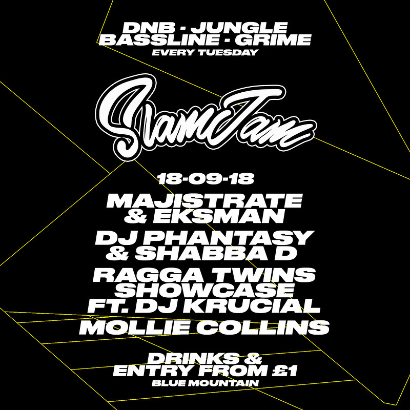 SlamJam 033 - Our biggest lineup yet! in Bristol 2018