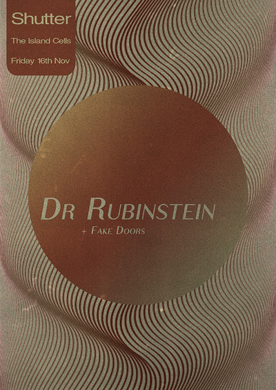 Shutter w/ Dr Rubinstein tickets