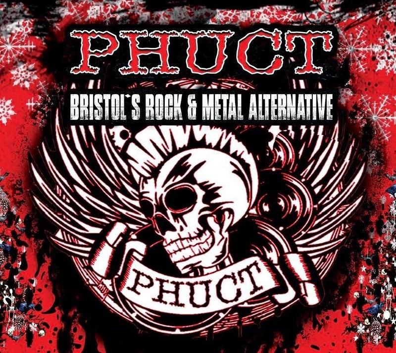 PHUCT - Bristol's Rock Metal Alternative Xmas Shin at The Lanes