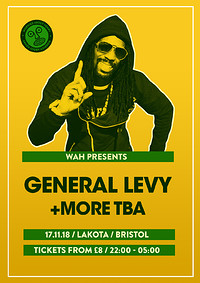 General Levy + More TBA in Bristol